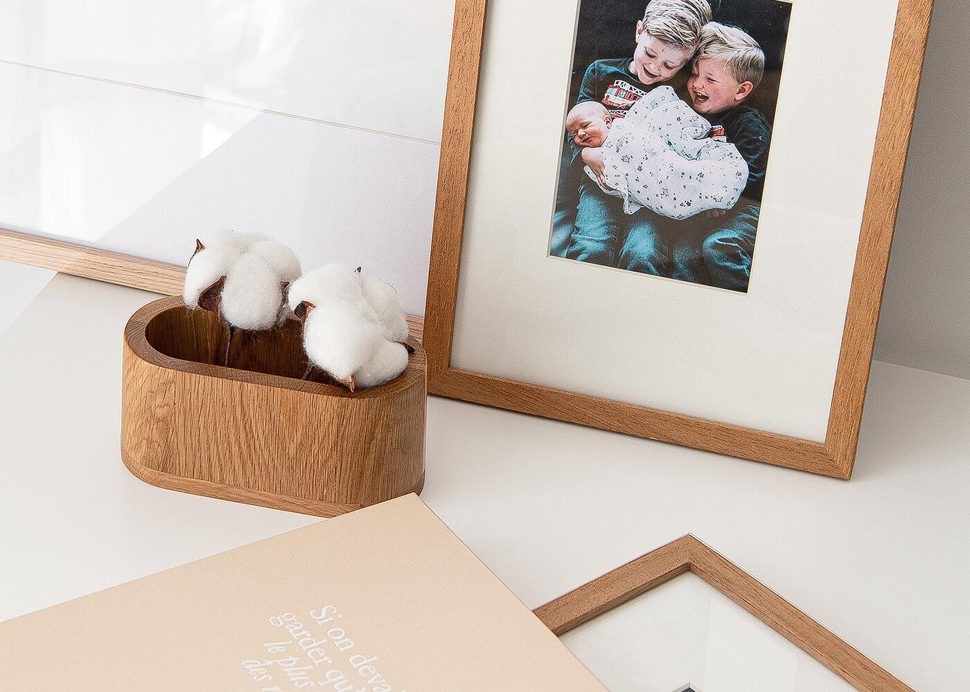 Innocence - Précieux souvenirs - Impression photo - Cadre - Photo encadrée - Frame - Prints