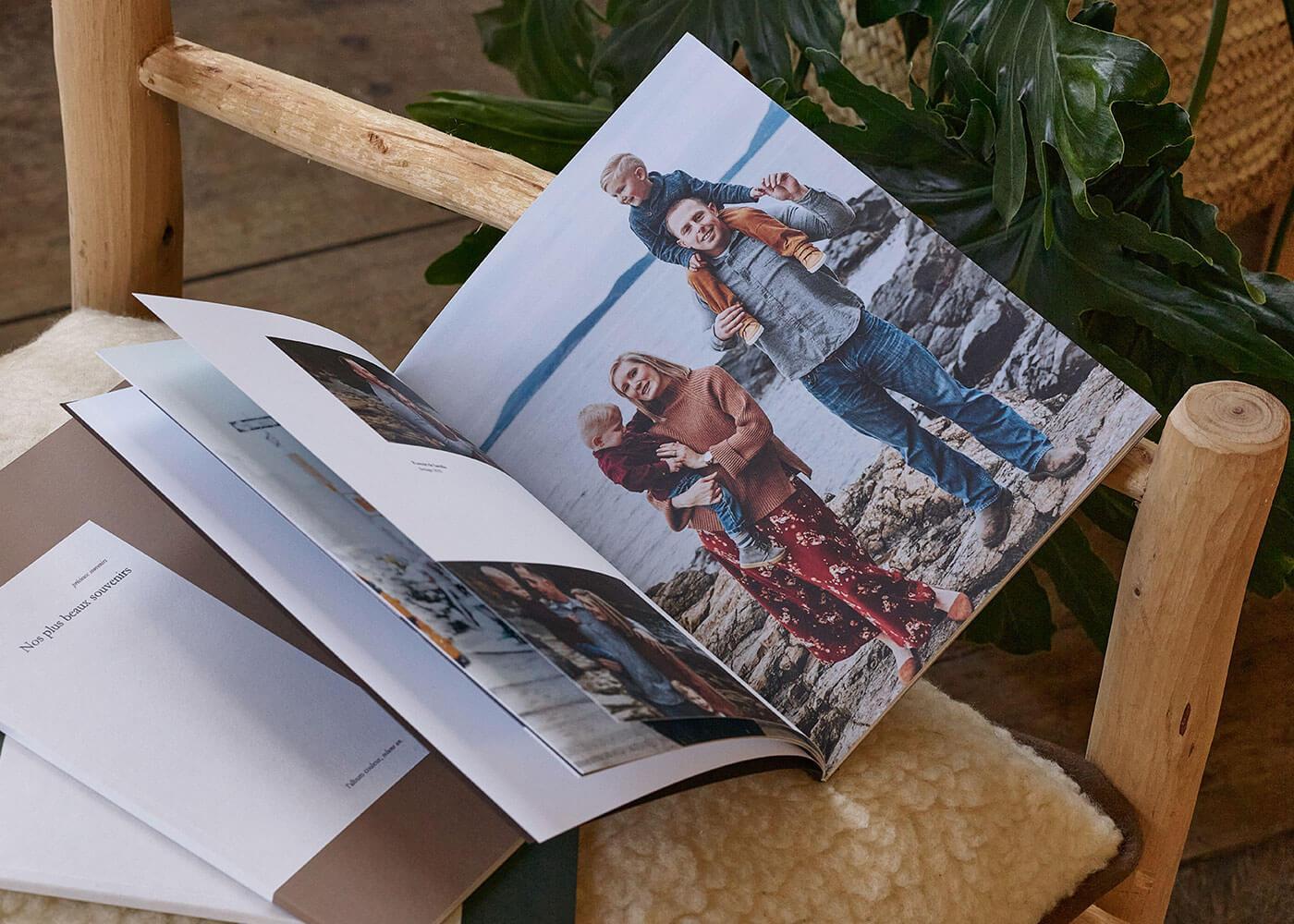 Innocence - Souvenirs - Impression album photo -  Livre photo - Grand format - Famille