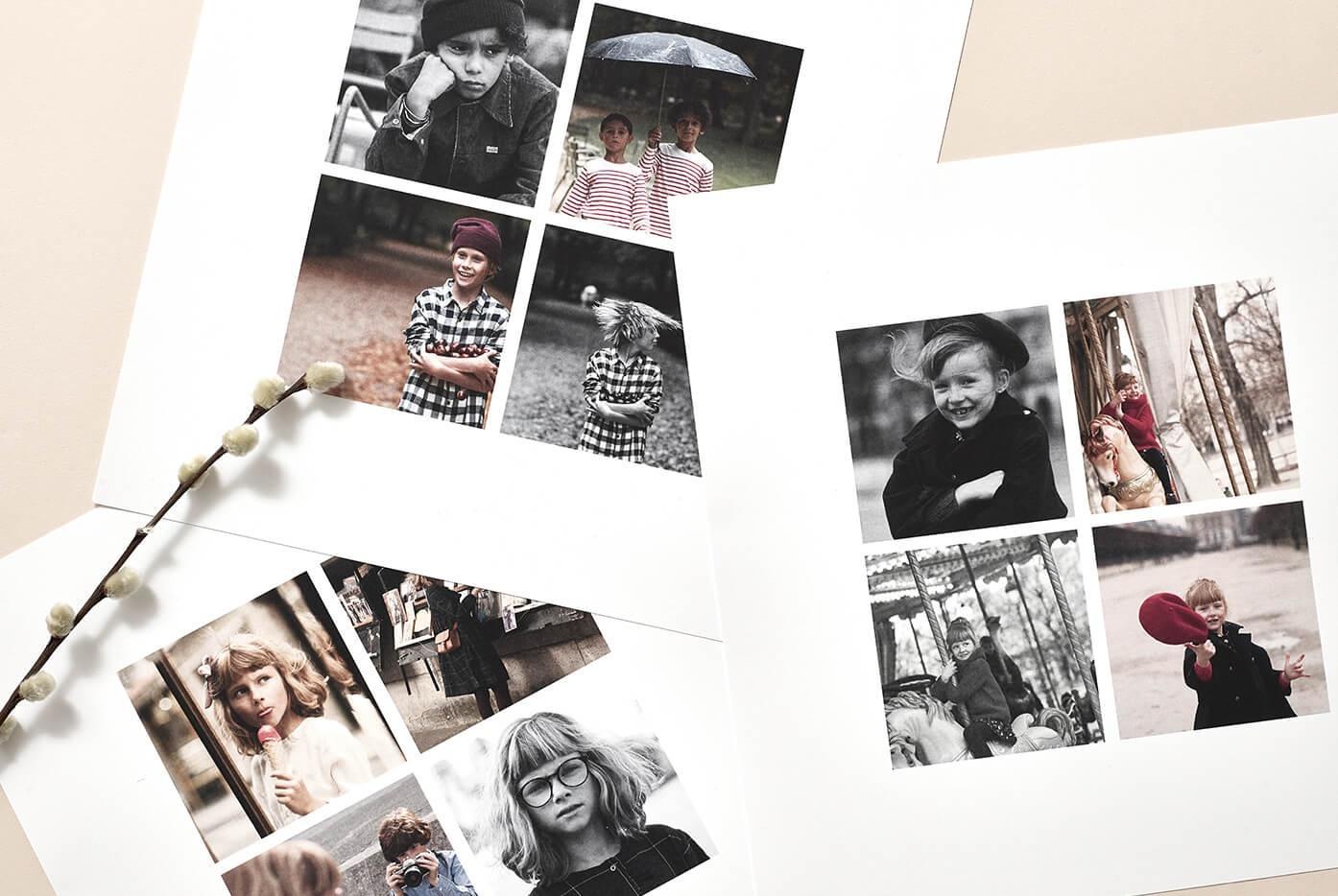 Innocence - La grille Insta - Tirage photo - Poster mosaique Instagram
