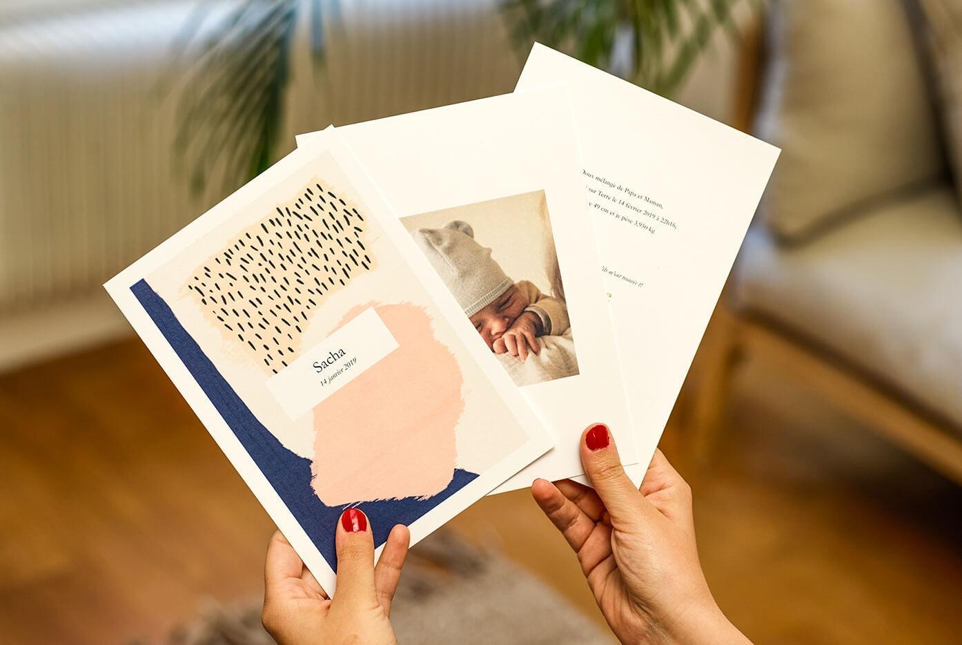Innocence - Album photos personnalisé - Faire-part Naissance