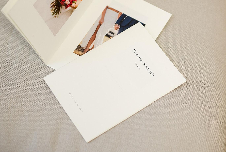 Innocence Impression Mariage Revue Album Photo Les livrets