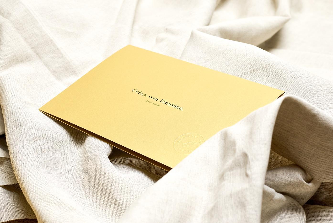 Innocence - Précieux souvenirs - carte cadeau - album personnalisé